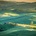 Tuscany Sunset by Stephane Grossin