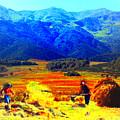 Tusheti Hay Makers IIi by Anastasia Savage Ealy