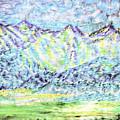 Tusheti Hay Meadows Caucasus Mountains I by Anastasia Savage Ealy