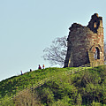Tutbury Castle Ruins by Rod Johnson