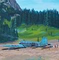 Twa Mountaintop Cabin by Gene Ritchhart