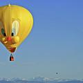 Tweety Balloon by Scott Mahon