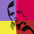 Twiggy Pop Art 1 by Dan Sproul