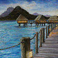 Twighlight On Bora Bora by Susan Jenkins