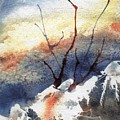 Twigs-n-ice by Marsha Elliott