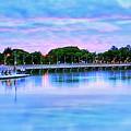 Twilight City Lake View by Ian Gledhill