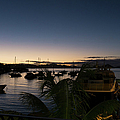 Twilight Cruz Bay by Randall Saltys