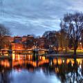Twilight In The Public Garden 2 by Joann Vitali