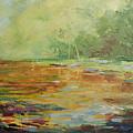 Twilight Lake by Emmanuel Gamonez