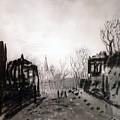 Twilight Landscape 1880 Alexey Kondratievich Savrasov by Eloisa Mannion