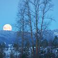 Twilight Moon by Idaho Scenic Images Linda Lantzy