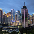 Twilight Over Jakarta South Business District In Indonesia by Didier Marti