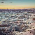 Twilight Over The Painted Desert by Nana Suzuki