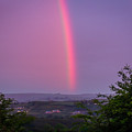 Twilight Rainbow Over Ireland by James Truett