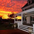 Ambassador House At Twilight by Steve  Gass