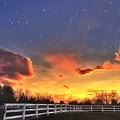 Twilight Sunset by Michael Krugman