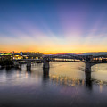 Twilight View, Chattanooga by Stacey Sather