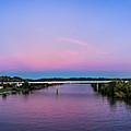 Twilight View, Walking Bridge by Stacey Sather