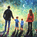 Twilight Walk Family Two Sons by Vickie Wade