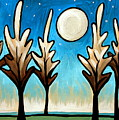 Twilight Woods by Elizabeth Robinette Tyndall