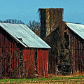 Twin Barns Of Queen Anne's County by Bill Swartwout Photography