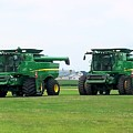 Twin Combines by Shelly Dixon