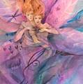 Twin Fairies by Carolyn Utigard Thomas