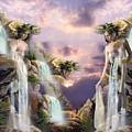 Twin Falls by Ali Oppy