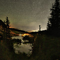 Twin Lakes Night Panorama by Surjanto Suradji