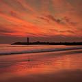Twin Lakes Sundown by Bruce Frye