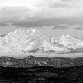 Twin Peaks Black And White Panorama by James BO  Insogna