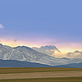 Twin Peaks Panorama View From The Agriculture Plains by James BO Insogna