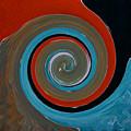 Twirl Red 01 by Gull G