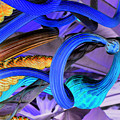 Twisted Blue by Cathi Abbiss Crane