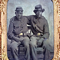Two African American Soldiers Wearing by Everett