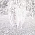 Two Angels, 1904  by Carlos Schwabe