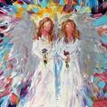 Two Angels by Karen Tarlton