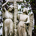 Two Angels With Cross by Dale Kincaid