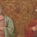 Two Apostles   Fragment Of Predella   by PixBreak Art
