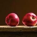 Two Apples by Mark Van crombrugge
