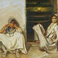 Two Arab Women by John Singer Sargent