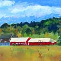 Two Barns by Bob Herbert