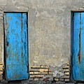 Two Blue Doors   Bukhara by Joseph Cosby