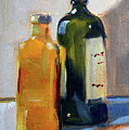 Two Bottles by Nancy Merkle