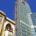 Two Buildings.. by Zal Latzkovich
