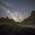 Two Buttes And A Beaut by Aaron J Groen