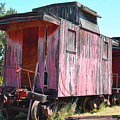 Two Caboose by Barbara Snyder