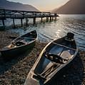 Two Canoe by Kristopher Schoenleber