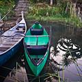 Two Canoes by Douglas Barnett