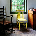 Two Chairs In Kitchen by Susan Savad